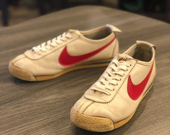 new concept dc666 6ddcb Vtg 1972 Nike Leather Cortez