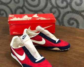 promo code 789b5 637be Vintage 70s Nike ATWEST spike shoes track Athletic West