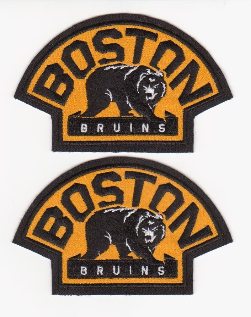 new arrival 57d82 b5fa6 Boston Bruins Jersey Shoulder Patch lot of 2