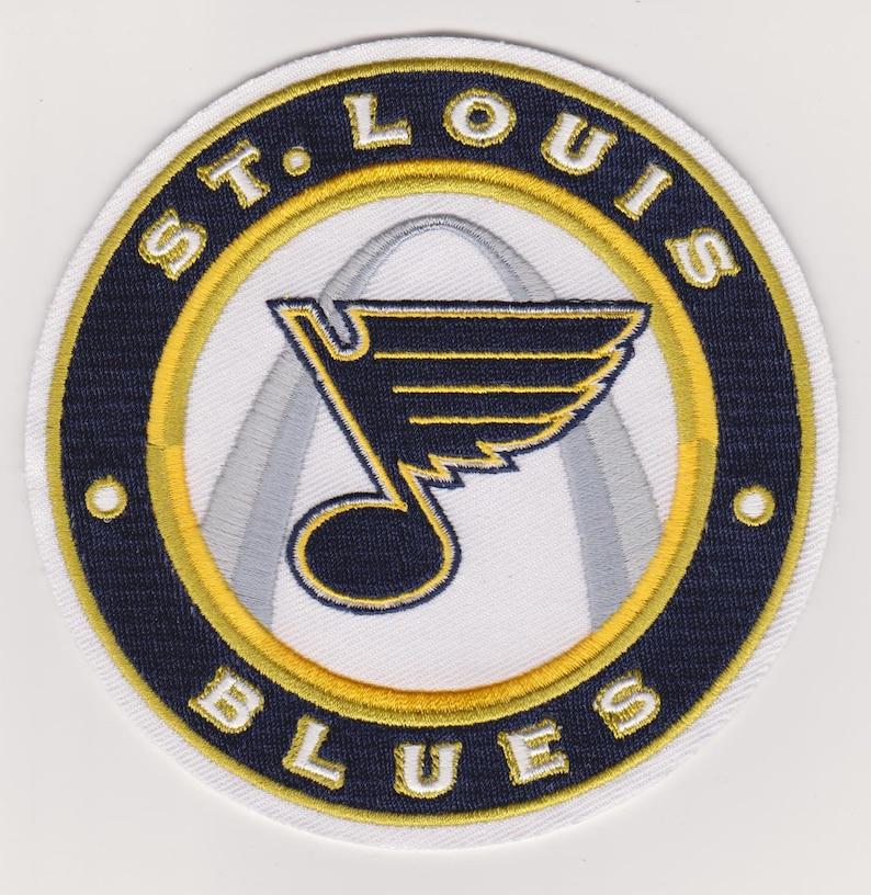 hot sale online d7022 831db St. Louis Blues 3rd Jersey Team Logo Jersey Patch 4.5