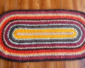 Hand-crocheted rug named ...