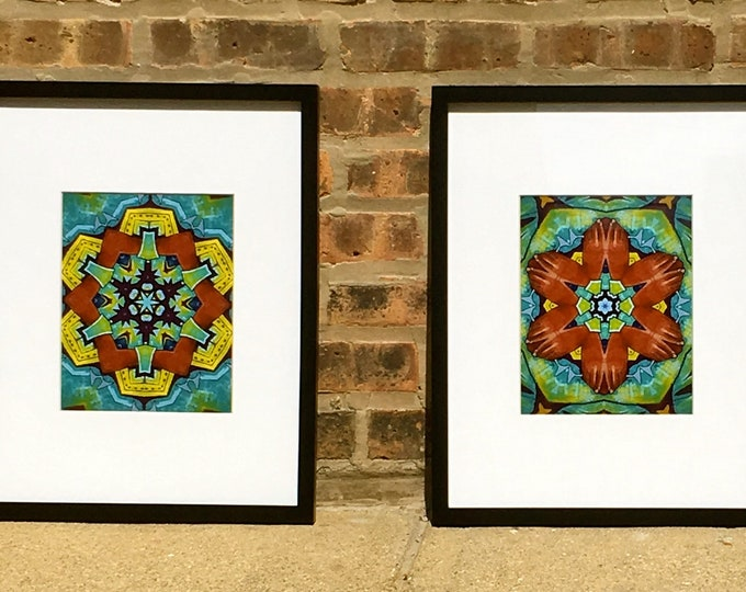 Chicago Street Art Inspired Original Prints, Brighten Any Room w/these Vibrant Designs, Choose 1, 2 or all 3, See 2nd Photo for Option #