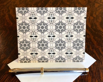 Serenity Note Cards & Envelopes, Handcrafted Set of 8, Original Design from Photo of the Remarkable, Bahá'í House of Worship