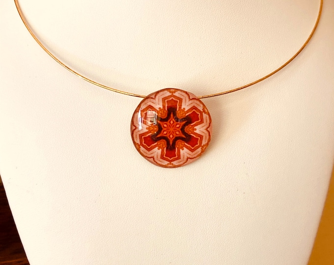 Catalana Star Pendant, Bold, Intricately Detailed Design, Beautiful Gift to Give or Keep for Yourself!