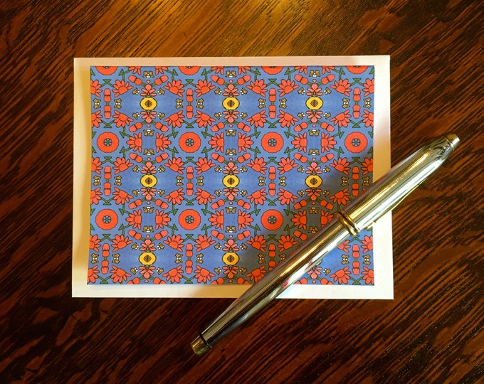 """Chicago """"Artists of the Wall"""" Inspired Note Cards, Brighten Someone's Day with these Vibrant, Original Designs"""