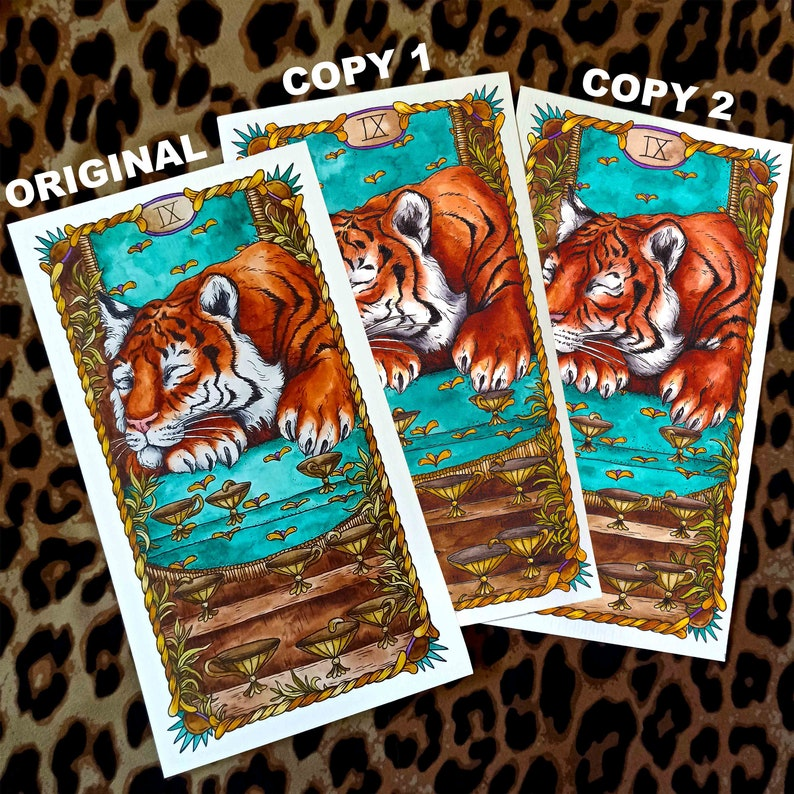 hand drawn tarot cards unique watercolor illustrations  etsy