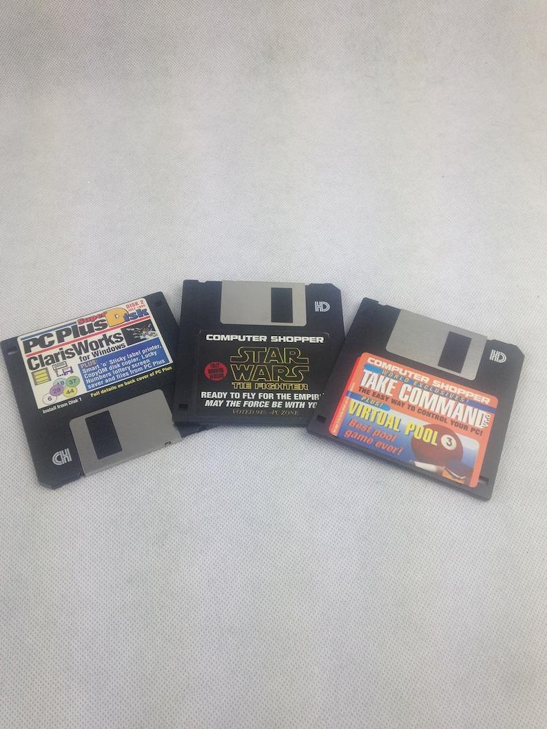 Vintage computer video games