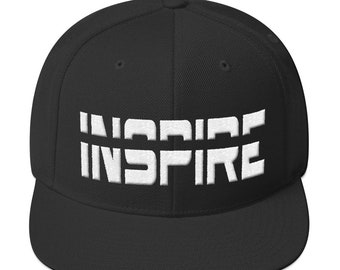 43b2eb003b2 Unisex Adult Snapback Hat  Cap - INSPIRE Embroidery - Soccer Football  Freestlyer version - Black  Black Red  Heather Black