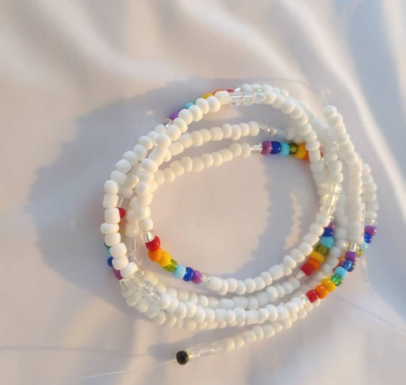 Red Waist Beads With Clasps- Waistbead Shop- African Jewelry- African Waistbeads- Masai African Waist Beads Belly Chain Belly Beads
