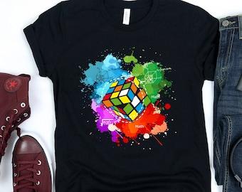 Rubik/'s Cube Equations Men Women Unisex T-shirt Vest Baseball Hoodie 3355