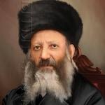 Chief Rabbi of Israel  Abraham Isaac Kook -- print on canvas