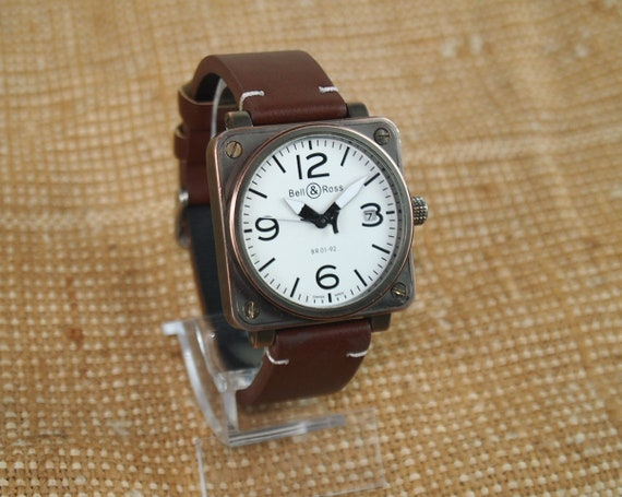 Wrist Watch Mens Mechanical watch BELL & ROSS Swis