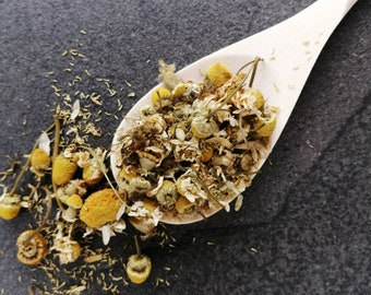 Dry Chamomile Blossoms for Loose Tea, Chamomile for Tinctures, Chamomile for Herbal Baths, Stress Relief