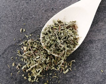 Dry Damiana leaves Cut and Sifted, Damiana Tea, Damiana Leaf for Smudging or Aphrodisiac Blends, Ritual Herbs