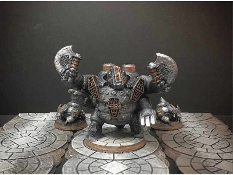 28mm | 32mm Dwarf Badger King DnD Miniature | Warhammer 40k Miniature |  Pathfinder Miniature | DnD | DnD 5e | Pathfinder | Pathfinder RPG