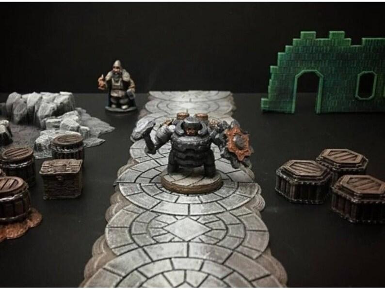 28mm | 32mm Dwarf Warrior DnD Miniature | Warhammer 40k Miniature |  Pathfinder Miniature | DnD | DnD 5e | Pathfinder | Pathfinder RPG |