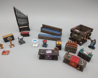 Faith and Religious Church Temple DnD Miniature Terrain, Dungeons and Dragons, D&D, Wargaming, Pathfinder, Tabletop, 28mm