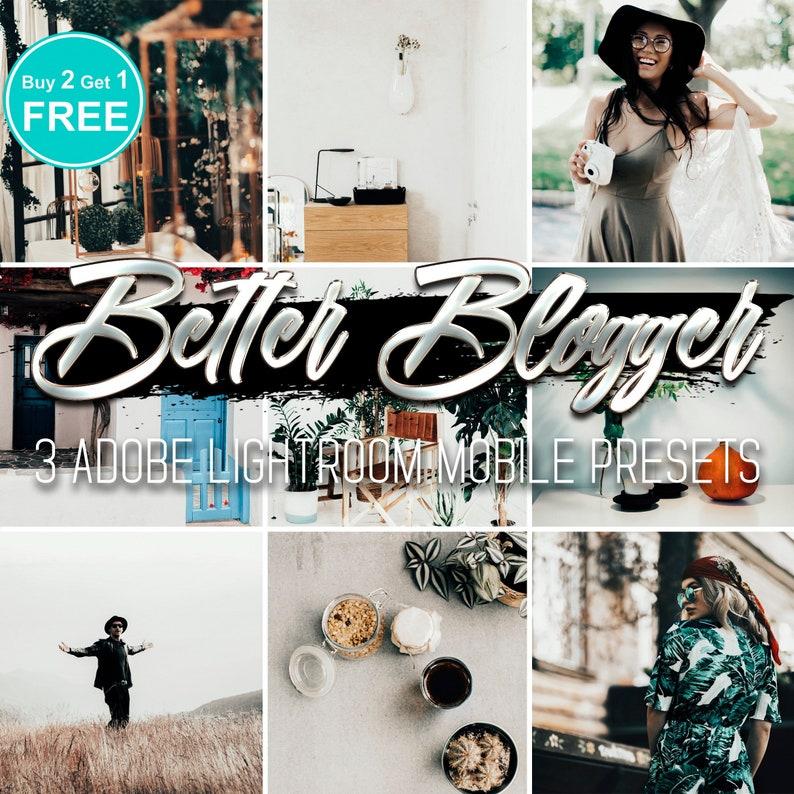 Adobe Lightroom Mobile Presets Better Blogger Lightroom Classic Presets  Instagram Minimalism White Warm and Airy Filters Bestseller Premium