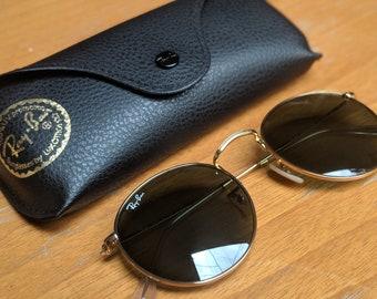 b66033c2fc2 Vintage Ray-Ban Round Sunglasses Rb3447 G-15 lens - Gold Frame