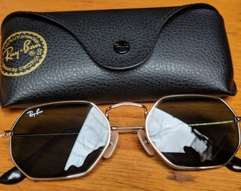 dc471fbb70ee Vintage Ray-Ban Octogonal Sunglasses Rb 3556-N
