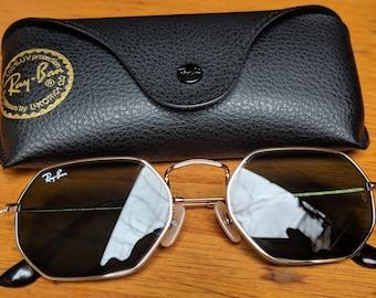 beaf8f8d3b Vintage Ray-Ban Octogonal Sunglasses Rb 3556-N