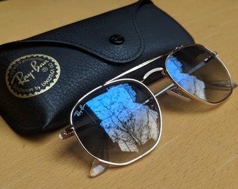 604e264c9d Vintage Marshall Ray-Ban Sunglasses - Blue Gradient lens- Rb3648