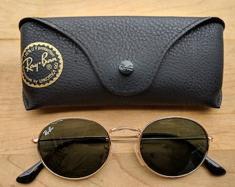 06c145535b Vintage Oval Ray-Ban Sunglasses Rb3547 G-15 lens - Gold Frame