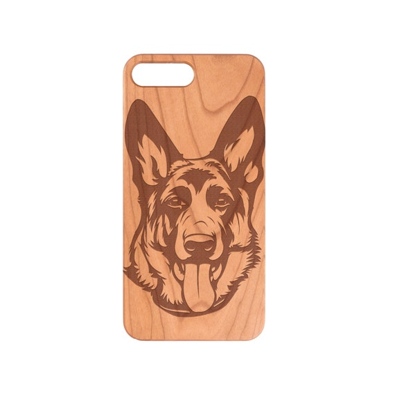Dog Breed German Shepherd iPhone X XS Xmax XR 5 6 6S 7 8 9 Plus + Samsung  Note 8 9 Galaxy S9 Plus S9 S10 S10 Plus S10e Natural