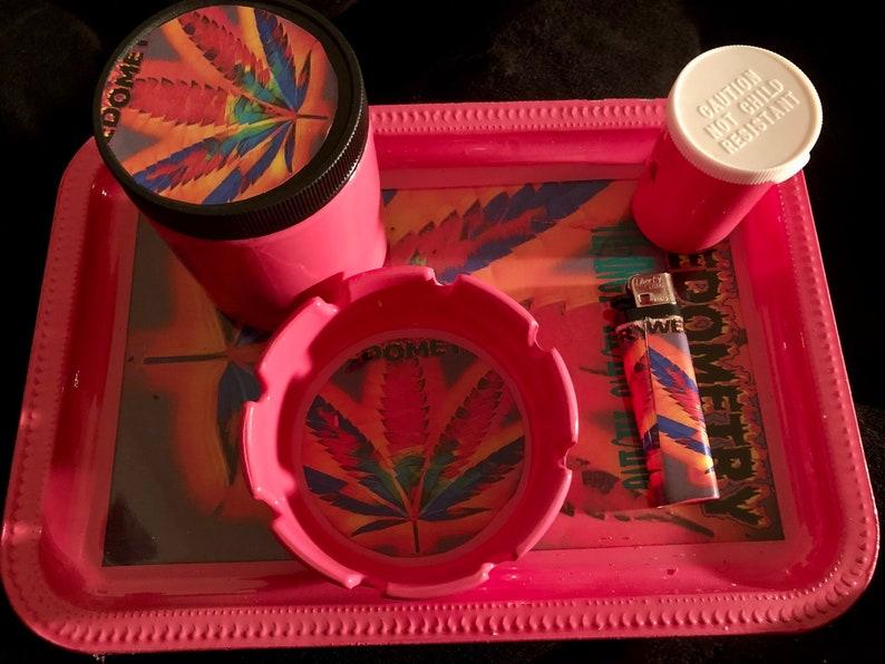 We Stick It\u201d Rolling Tray Set \u201cYou Pick It