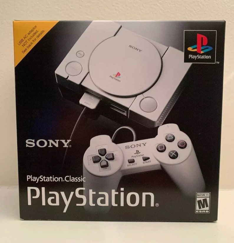 PS1 Classic - 128gb USB - w/Retroarch 2,100+ Games!