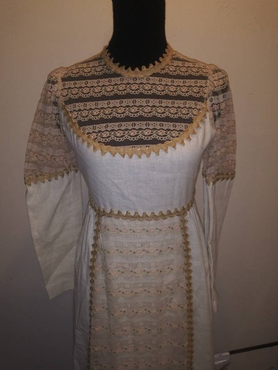 1960s Gunne Sax of California-Bohemian-Country wed