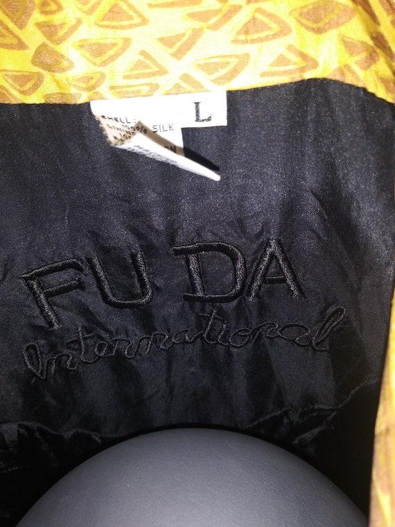 Leopard Print Silk Jacket 80's FUDA INTERNATIONAL - image 4