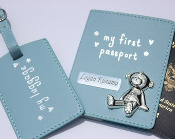 02af53214 Personalized passport covers