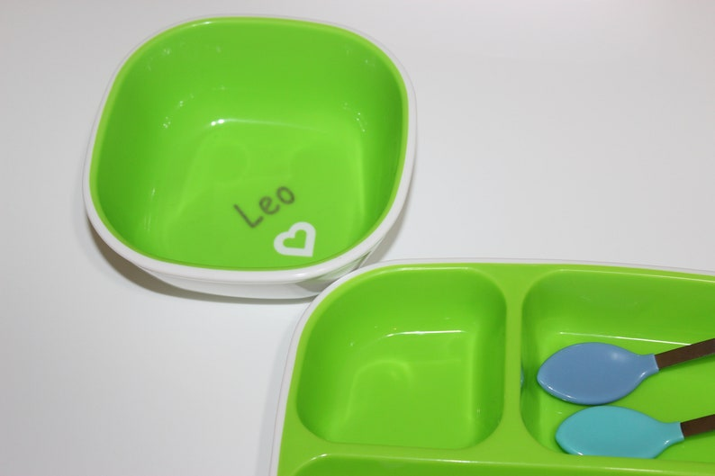 MORE COLOR OPTIONS Personalized Munchkin Bowl Great for Day Care Personalized Gift Personalized Baby Gift Engraved Personalized