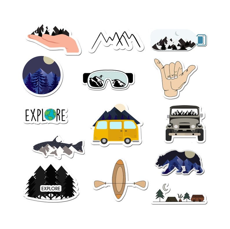 It is a photo of Sassy Hydro Flask Stickers Printable