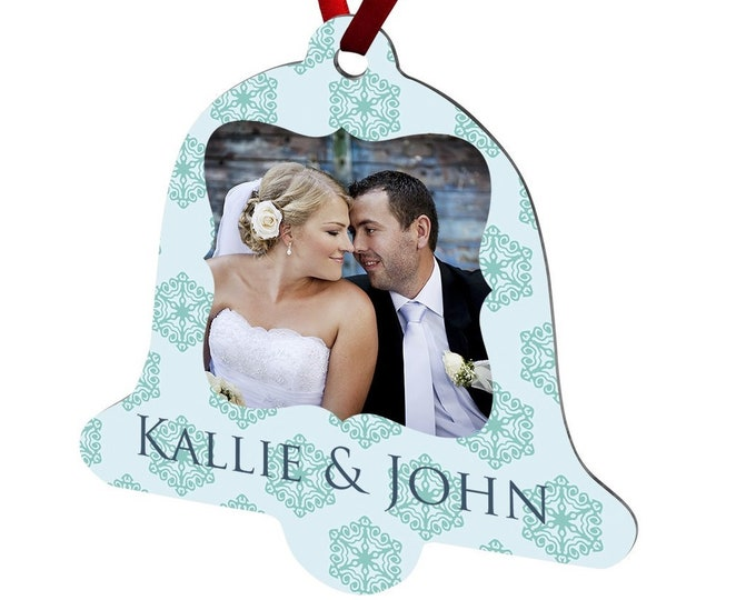 Personalized Photo Ornament, Your Choice of Photo/Image/Words, Design your own Full Color Ornament, Custom Christmas Ornament, Double Sided