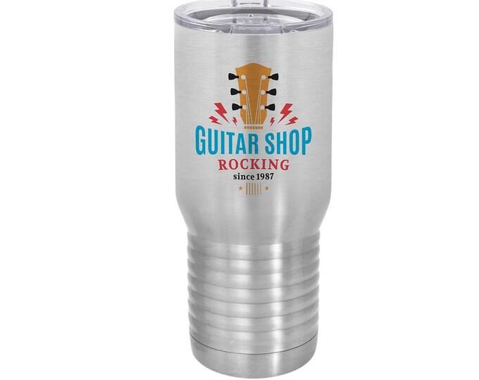 Custom Travel Mug, Your Choice of Photo/Image/Words, 20 oz. Stainless Steel, Insulated, Yeti Style, Personalized Travel Mug, Corporate Gifts