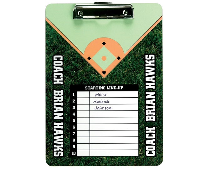 Custom Photo/Image Clipboard, Your Choice of Photo/Image/Words, Sports Clipboard, Personalized Clipboard,Office Clipboard,Business Clipboard
