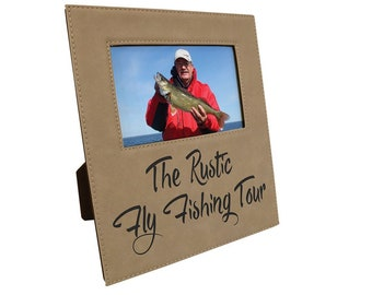 Personalized Leatherette Photo Frame, Light Brown, Custom Photo Frame, Laser Engraved Photo Frame, Corporate Gifts, Personalized Gifts