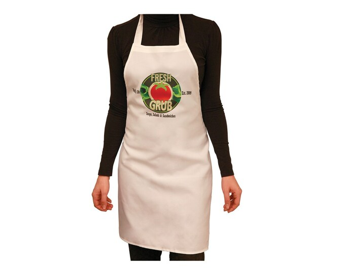 Personalized Apron, Design Your Own, Full Color Customization, Your Choice of Photo/Image/Words, Custom Designed Apron, Photo Apron