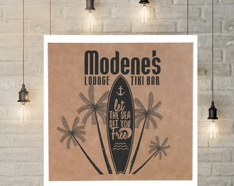"""Personalized Wall Art, Your Choice of Image/Words, Tan/Black, 10"""" x 10"""" Personalized Signs, Award Plaques, Custom Wall Art, Corporate Signs"""