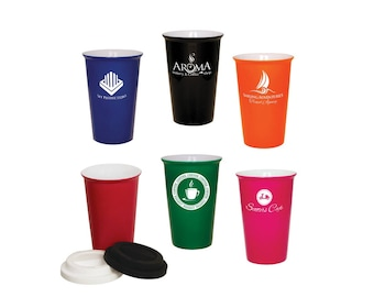 Personalized Latte Cups, Your Choice of Image/Words, Custom Coffee Cups, Personalized Coffee Cups, Corporate Gifts, Engraved Coffee Cups