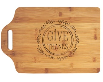 Personalized Cutting Board - Your Choice of Image/Words, Bamboo Wood, Housewarming Gifts, Wedding Gifts, Custom Gifts, Corporate Gifts