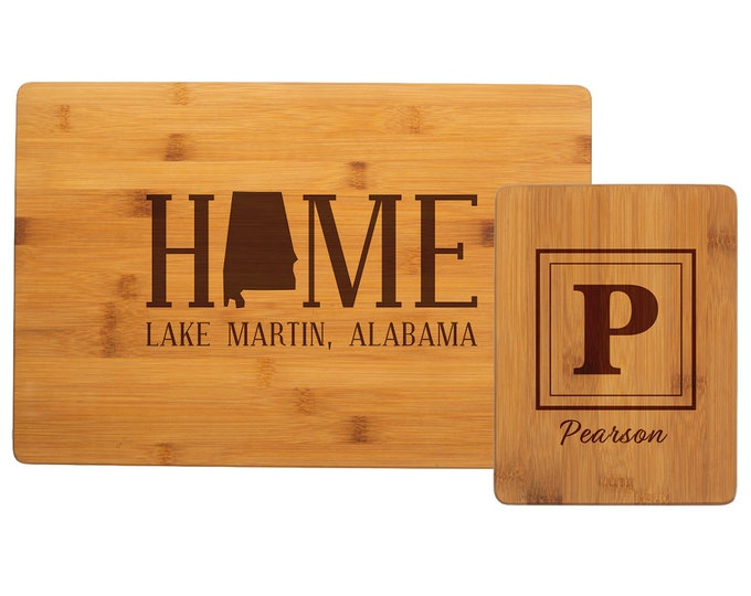 Personalized Cutting Board - Your Choice of Image/Words, Bamboo Wood Cutting Board, Laser Engraved Cutting Board, Custom Cutting Board