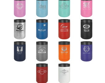 Personalized Can Cooler, Your Choice of Image/Words, Polar Camel, Custom Koozie, Laser Engraved, Personalized Koozie, Custom Can Cooler