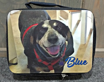 Personalized Lunch Bag, Design your Own, Your Choice of Photo/Image/Words, Insulated, Personalized Lunch Bag, School Lunch Tote