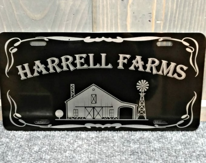 Custom License Plate, Laser Engraved, Your Choice of Image/Words, Personalized License Plate, License Plate, Wedding Gift, Custom Gifts