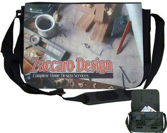 Custom Photo Shoulder/Messenger Bag, Design your Own, Your Choice of Photo/Image/Words, Personalized Messenger Bag, Custom Carryall Bag