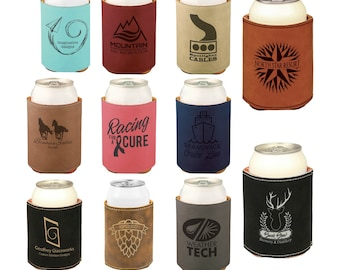Personalized Can Cooler, Your Choice of Image/Words, Laser Engraved, Corporate Gifts, Groomsmen Gifts, Custom Can Cooler,Personalized Koozie