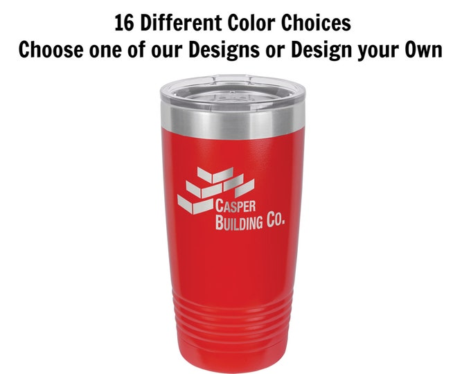 Personalized Travel Mugs, Your Choice of Image/Words, 20 oz. Insulated, Yeti Style, Stainless Steel, Custom Travel Mugs,Engraved Travel Mugs